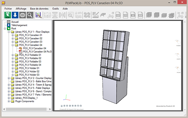 Treedim Packaging Cad And Pos Display Design Software Home