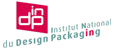 indp logo institut national du design packaging
