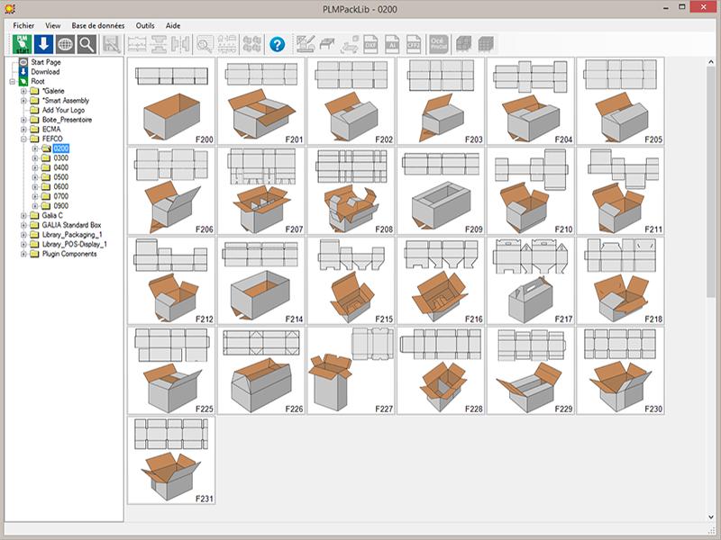 TreeDiM, Packaging CAD and POS display design software - PackLib